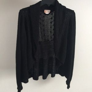 Mudd Black cardigan sweater